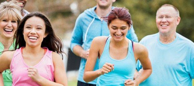 Course  à pied de 45 minutes avec une foulée lente pour brûler vos graisses du ventre
