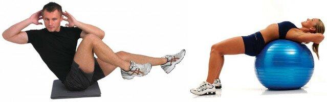 Exercices abdominaux avec ou sans matériel selon votre budget