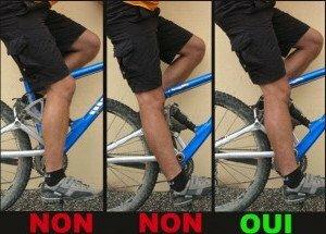 Régler correctement la hauteur de la selle de votre vélo
