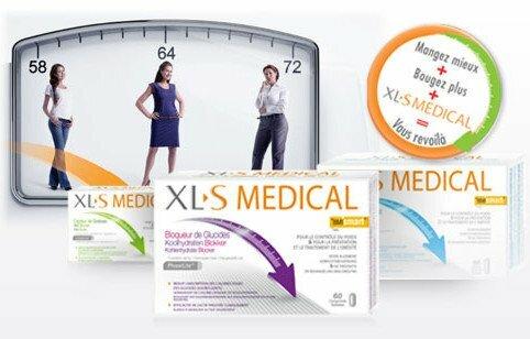 XLS Medical : la marque de produits pour mincir