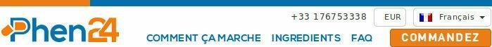 Acheter phen24 en pharmacie en france et obtenir le meilleur prix
