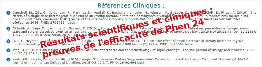 Preuves de l'efficacite et sérieux de phen24 : études cliniques et résultats prouvés par la science