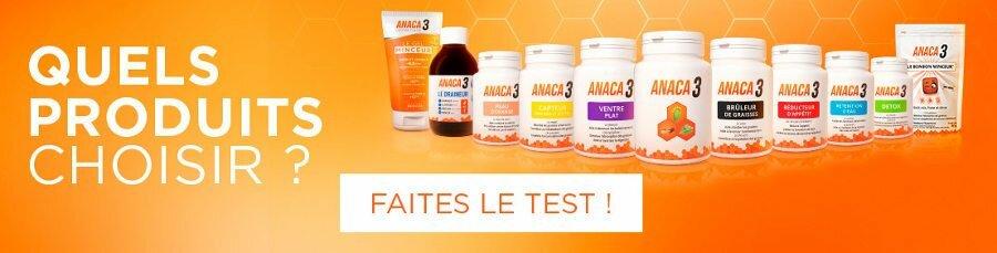 Acheter Anaca3 sur internet en pharmacie : quelle est le meilleur produit de la gamme gel minceur