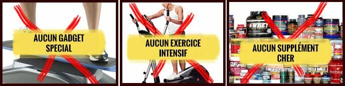 Brûler des graisses sans matériel, sans exercice et sans supplément